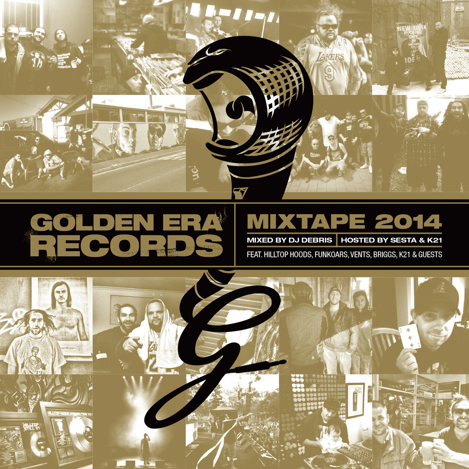 GOLDEN ERA MIXTAPE 2014